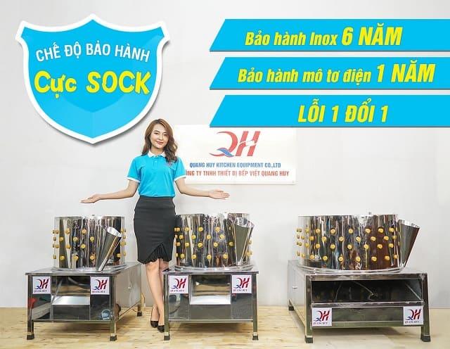 Nhiều ưu đãi đặc biệt khi mua máy vặt lông gà tại Quang Huy
