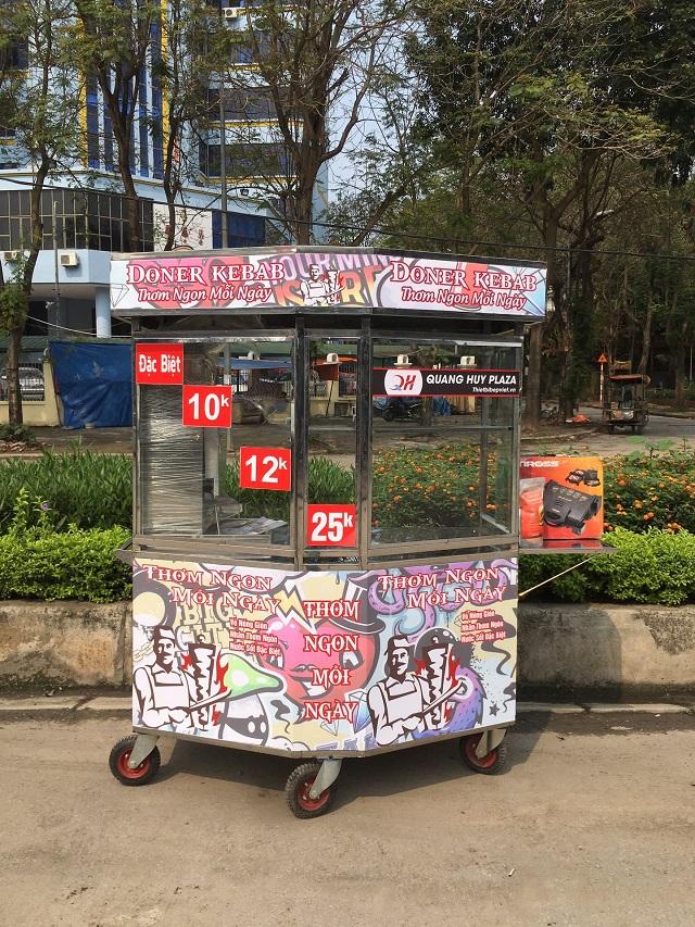 Mẫu xe graffiti ấn tượng thu hút khách hàng