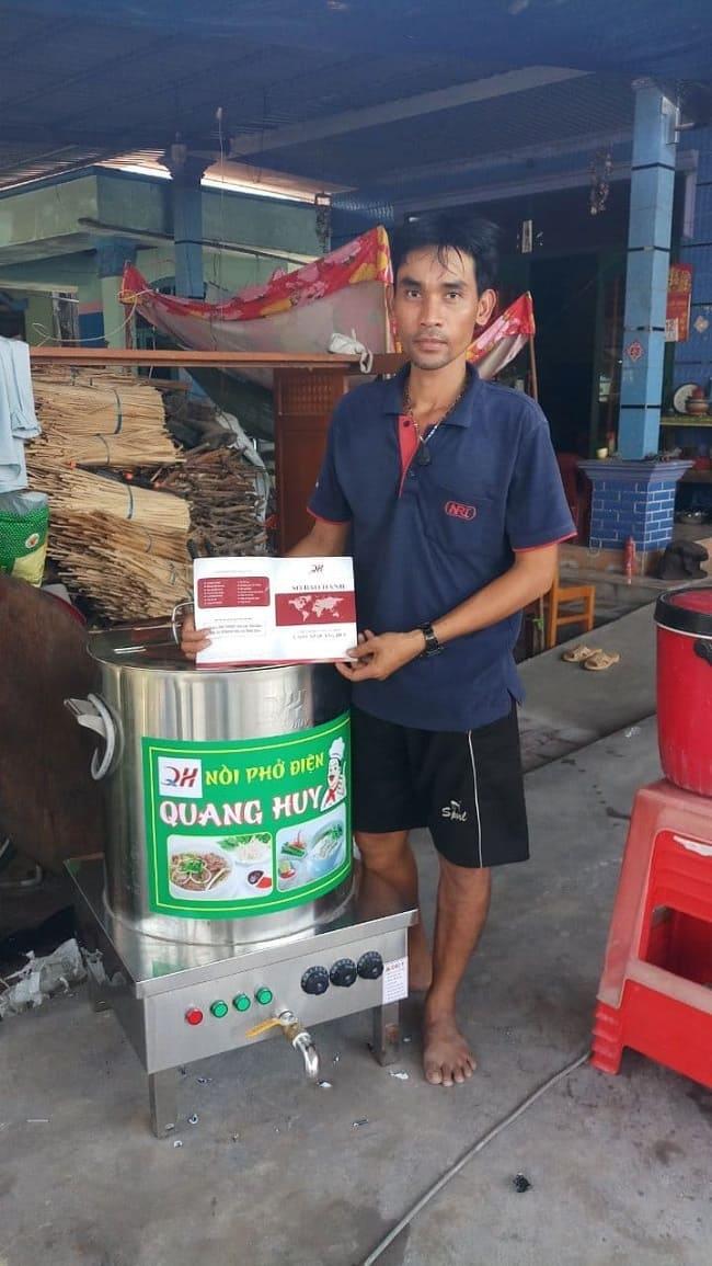 Feedback khách hàng Quang Huy
